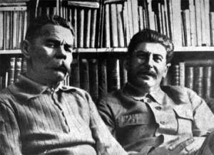 Gorki et Staline