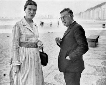 Simone de Beauvoir et Jean-Paul Sartre  : une aventure affective, intellectuelle et politique