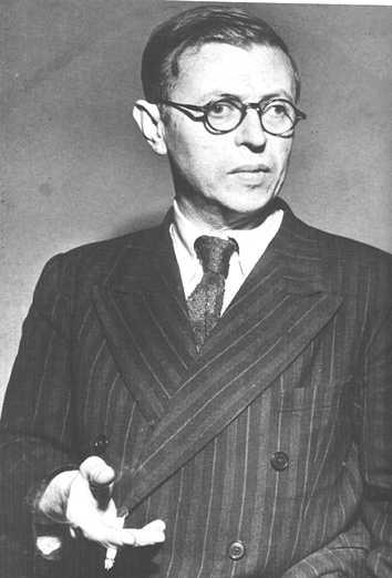 Jean-Paul Sartre ou l'existentialisme littéraire et philosophique